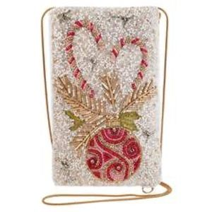 Mary Frances Sweet Wishes Candy Cane Phone bag